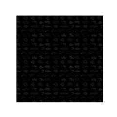Fish pattern Small Satin Scarf (Square)