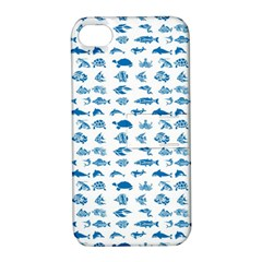 Fish pattern Apple iPhone 4/4S Hardshell Case with Stand