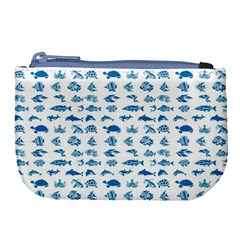 Fish Pattern Large Coin Purse