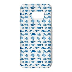 Fish Pattern Samsung Galaxy S7 Hardshell Case