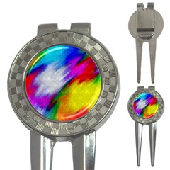 Rainbow colors              3-in-1 Golf Divot