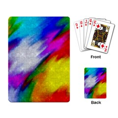 Rainbow colors              Playing Cards Single Design