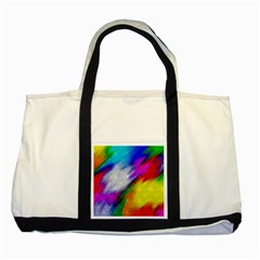 Rainbow colors              Two Tone Tote Bag
