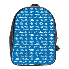 Fish pattern School Bags(Large)