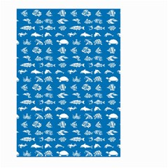 Fish pattern Large Garden Flag (Two Sides)