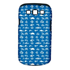 Fish pattern Samsung Galaxy S III Classic Hardshell Case (PC+Silicone)