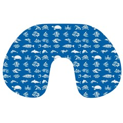 Fish pattern Travel Neck Pillows