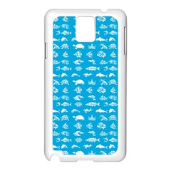 Fish pattern Samsung Galaxy Note 3 N9005 Case (White)
