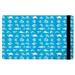 Fish Pattern Apple Ipad Pro 12 9   Flip Case