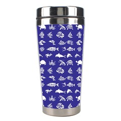 Fish pattern Stainless Steel Travel Tumblers