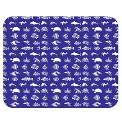 Fish pattern Double Sided Flano Blanket (Medium)