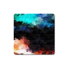 Paint strokes and splashes              Magnet (Square)