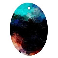 Paint strokes and splashes              Ornament (Oval)