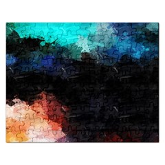 Paint strokes and splashes              Jigsaw Puzzle (Rectangular)