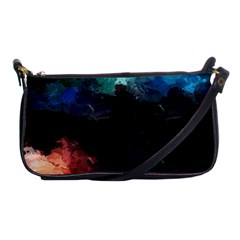 Paint strokes and splashes              Shoulder Clutch Bag