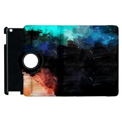Paint strokes and splashes        Apple iPad 2 Flip 360 Case