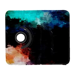 Paint strokes and splashes        Samsung Galaxy Note II Flip 360 Case
