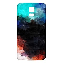 Paint strokes and splashes        Samsung Galaxy S5 Case (Black)