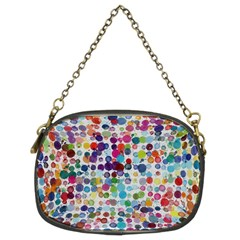 Colorful splatters          Chain Purse (Two Sides)