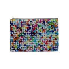 Colorful splatters               Cosmetic Bag