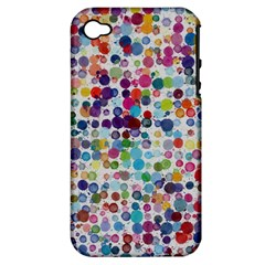 Colorful splatters         Apple iPhone 3G/3GS Hardshell Case (PC+Silicone)