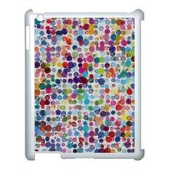 Colorful splatters         Apple iPad 3/4 Case (Black)