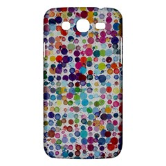 Colorful splatters         Samsung Galaxy Duos I8262 Hardshell Case