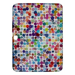 Colorful splatters         Samsung Galaxy Tab 3 (8 ) T3100 Hardshell Case