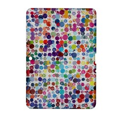 Colorful splatters         Samsung Galaxy Tab 2 (7 ) P3100 Hardshell Case