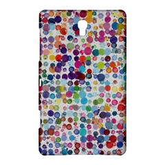 Colorful splatters         Samsung Galaxy Tab 4 (10.1 ) Hardshell Case