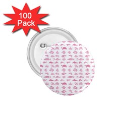 Fish pattern 1.75  Buttons (100 pack)