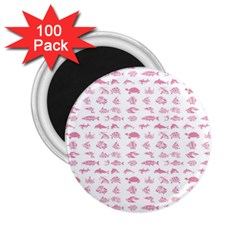 Fish pattern 2.25  Magnets (100 pack)