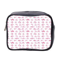Fish Pattern Mini Toiletries Bag 2 Side
