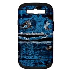 Blue painted wood          Apple iPhone 5 Classic Hardshell Case