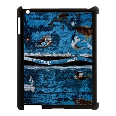 Blue painted wood          Apple iPad Mini Hardshell Case (Compatible with Smart Cover)