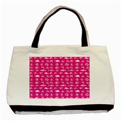 Fish pattern Basic Tote Bag