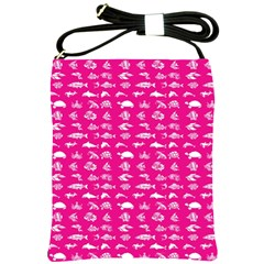 Fish pattern Shoulder Sling Bags
