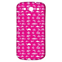Fish pattern Samsung Galaxy S3 S III Classic Hardshell Back Case