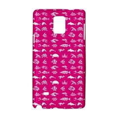 Fish pattern Samsung Galaxy Note 4 Hardshell Case