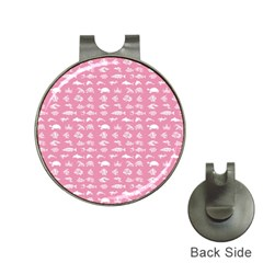 Fish pattern Hat Clips with Golf Markers