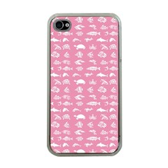 Fish pattern Apple iPhone 4 Case (Clear)