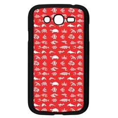 Fish pattern Samsung Galaxy Grand DUOS I9082 Case (Black)