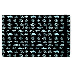 Fish Pattern Apple Ipad Pro 12 9   Flip Case