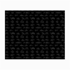 Fish pattern Small Glasses Cloth (2-Side)