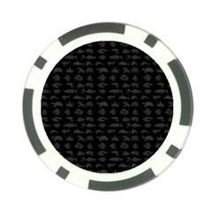 Fish pattern Poker Chip Card Guard (10 pack)