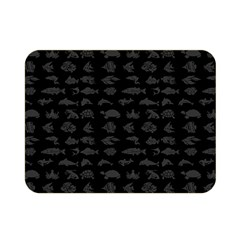 Fish pattern Double Sided Flano Blanket (Mini)