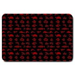 Fish pattern Large Doormat