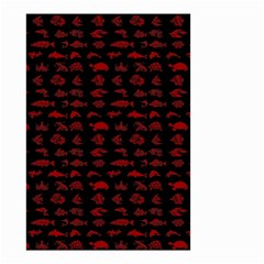 Fish pattern Small Garden Flag (Two Sides)