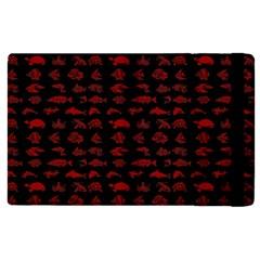 Fish Pattern Apple Ipad Pro 9 7   Flip Case