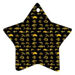Fish pattern Ornament (Star)